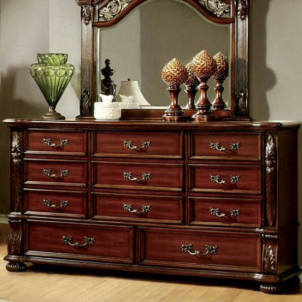 Corkermain 11 Drawer Standard Dresser/Chest by Astoria Grand