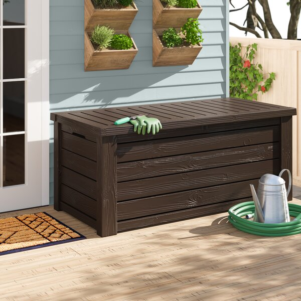 Westwood 150 Gallon Resin Deck Box By Keter