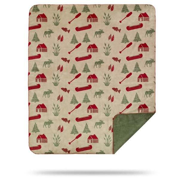 Fedler Moose Camp Blanket by Millwood Pines