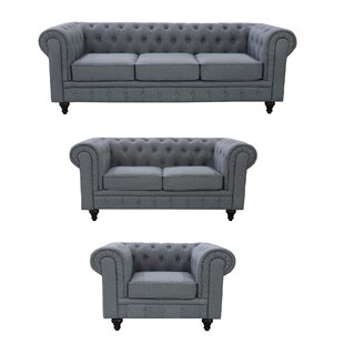 Deals Plowman 3 Piece Living Room Set By One Allium Way
