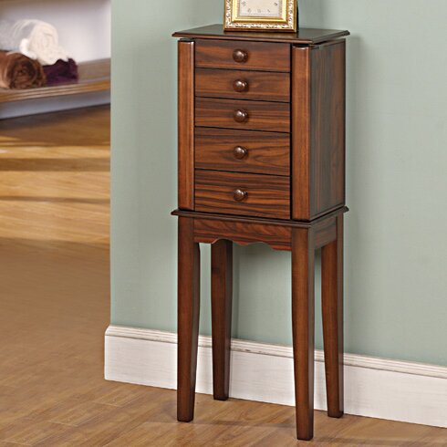 Prolific Jewelry Armoire with Mirror by Wildon Home ®