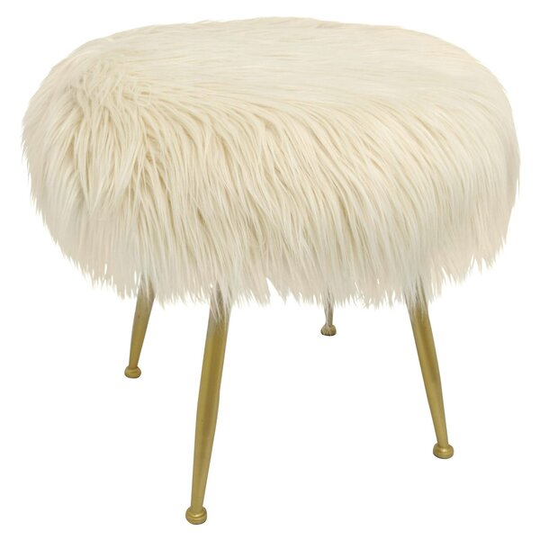 Emery Accent Stool by Everly Quinn