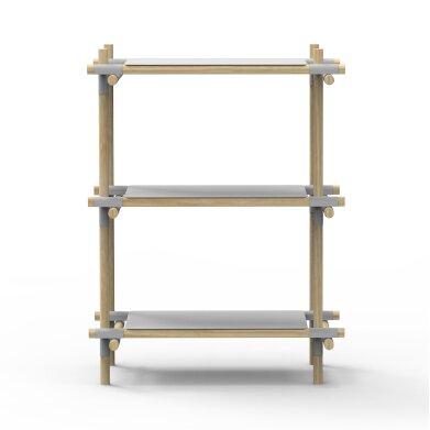 Stick System Standard Bookcase by Menu