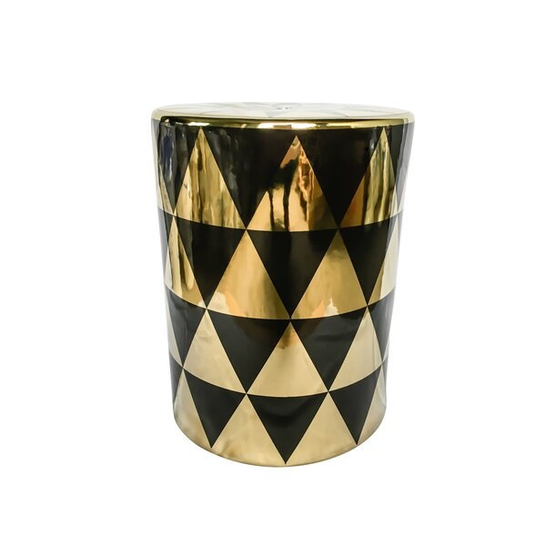 Palmerston Ceramic Garden Stool by Mercer41