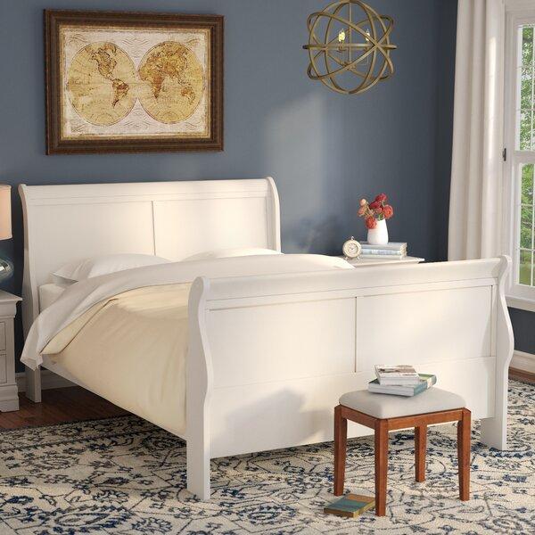 Tina Sleigh Bed by Laurel Foundry Modern Farmhouse