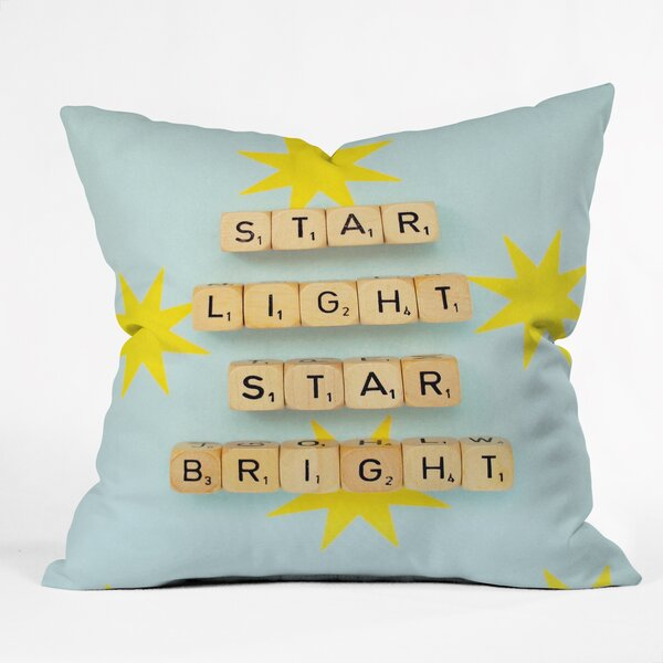 Happee Monkee Star Light Star Bright Throw Pillow by Deny Designs