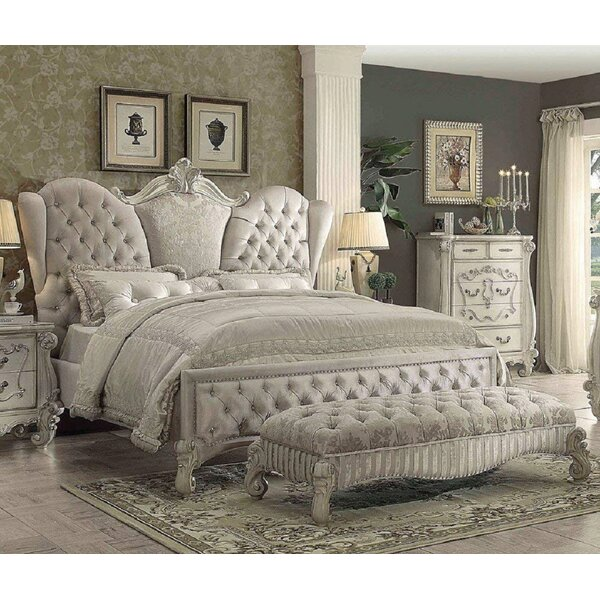 Versailles Queen Upholstered Standard Bed by Simple Relax
