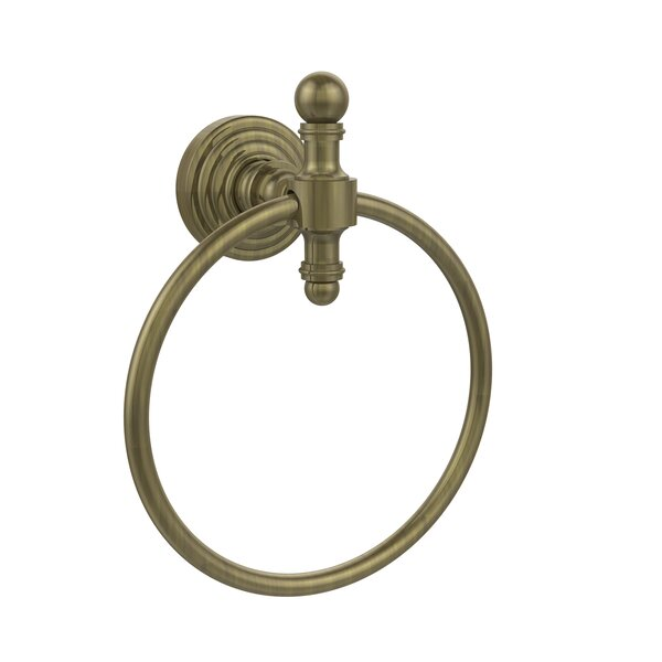 Retro Wave Wall Mounted Towel Ring by Allied Brass