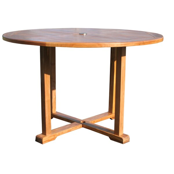 Hatteras Solid Wood Dining Table By Chic Teak