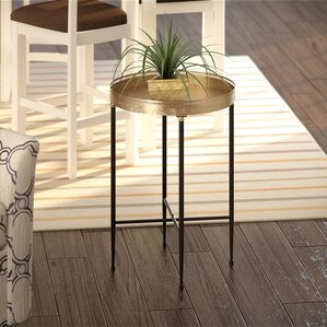 Avon End Table by Alcott Hill