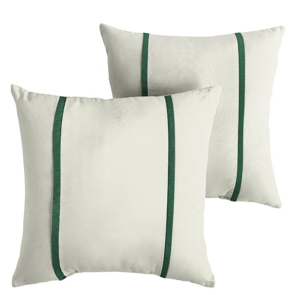Holford Indoor/Outdoor Sunbrella Throw Pillow (Set of 2) by Alcott Hill