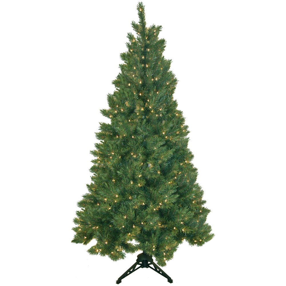 General Foam Plastics Northern Spruce 6 5 39 Artificial Half