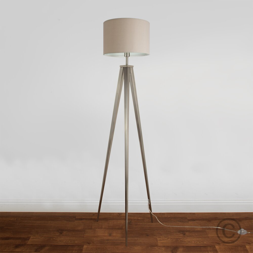 Minisun nero 160cm tripod floor lamp reviews wayfaircouk for Nero 5 light floor lamp