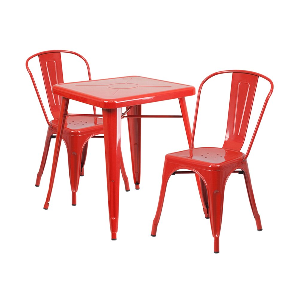 Offex 3 Piece Dining Set Reviews Wayfair