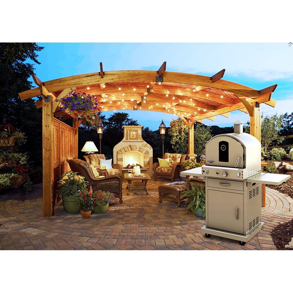 Lava Heat Propane Gas Commercial Outdoor Pizza Oven & Reviews ...