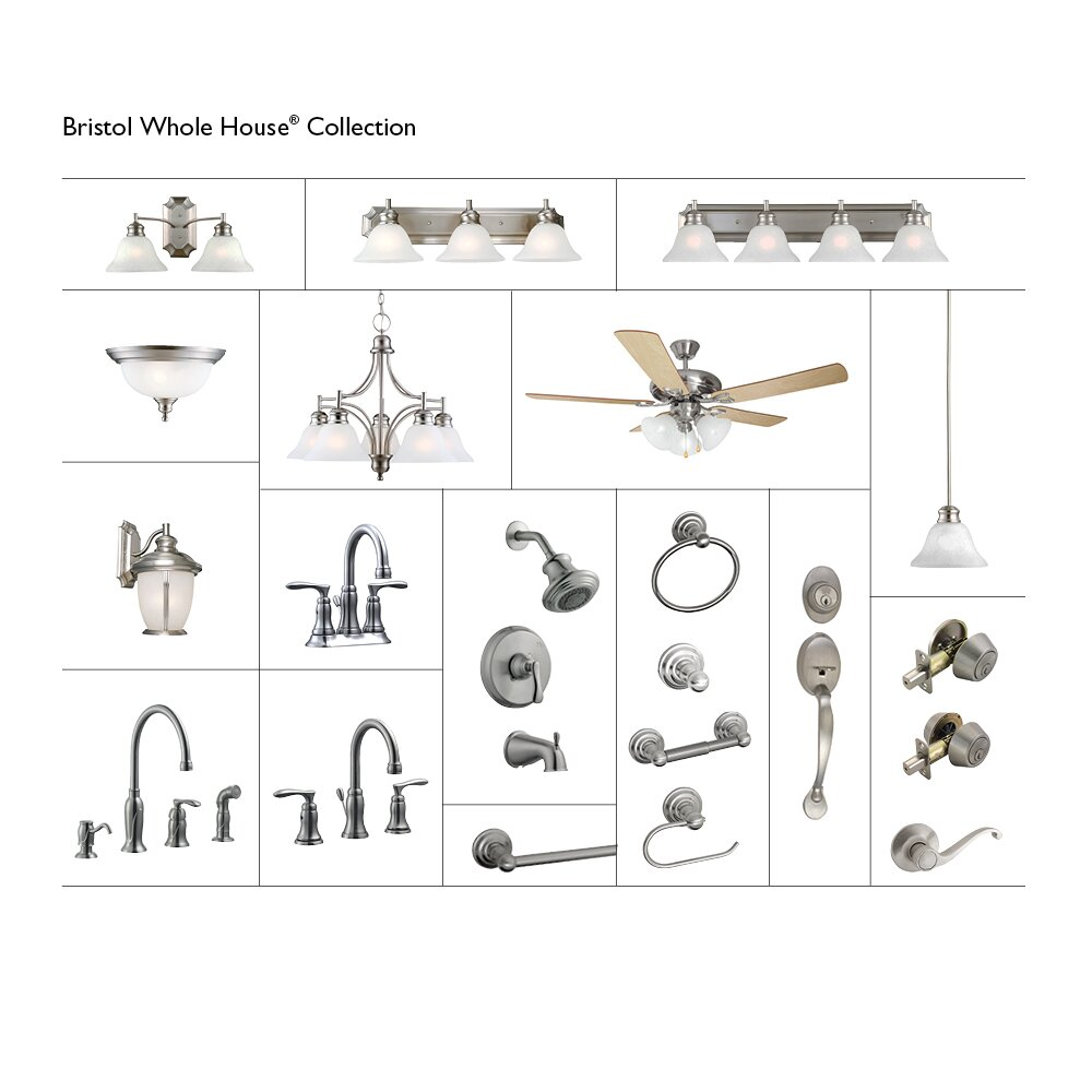 Madison Single Handle Kitchen Faucet With Sprayer And Soap Dispenser