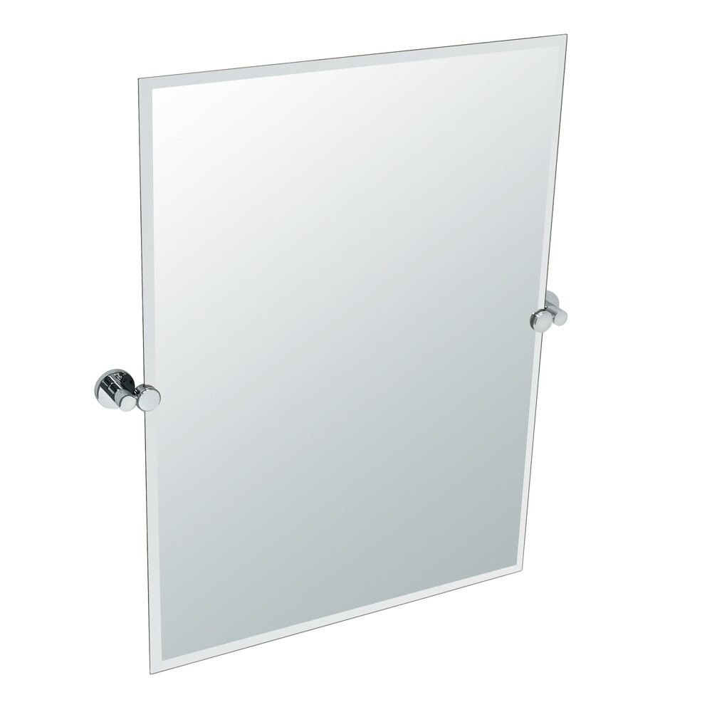 gatco channel rectangle mirror reviews wayfair