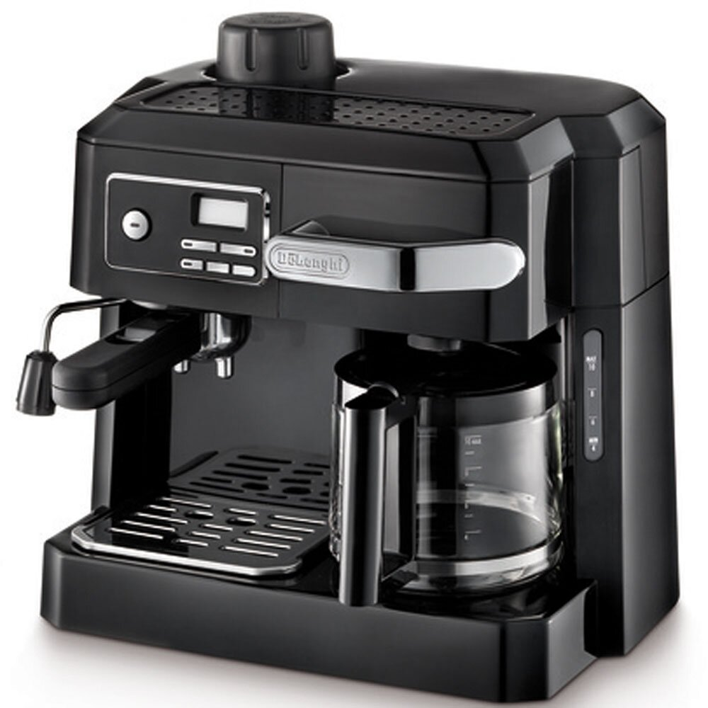 Coffee Maker Latte Reviews : DeLonghi Combination Coffee & Espresso Maker & Reviews Wayfair