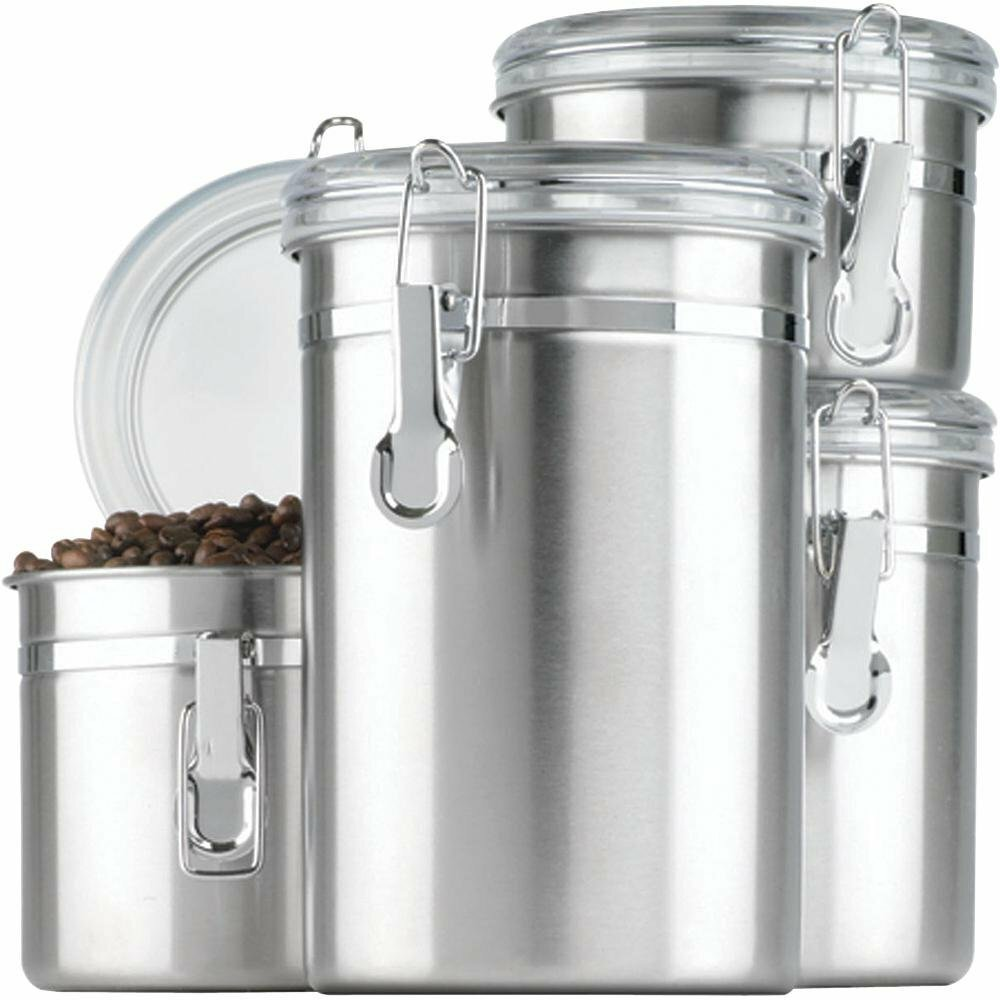anchor hocking 4 piece kitchen canister set amp reviews