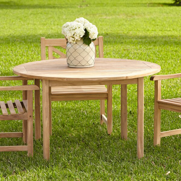Summerton Teak Round Dining Table by Birch Lane™