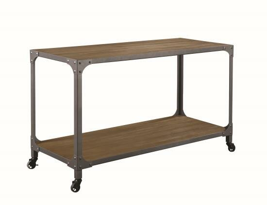 Mehaffey Kitchen Island with Manufactured Wood Top by Williston Forge