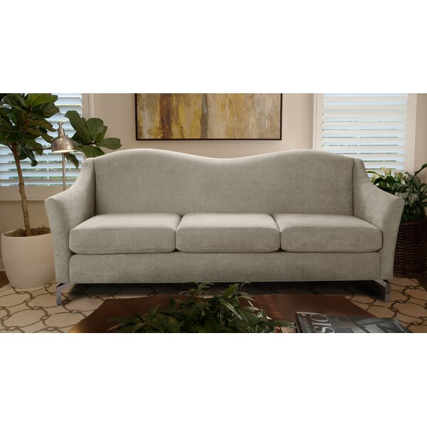 Good Quality Alrai Camel back Sofa by Everly Quinn by Everly Quinn