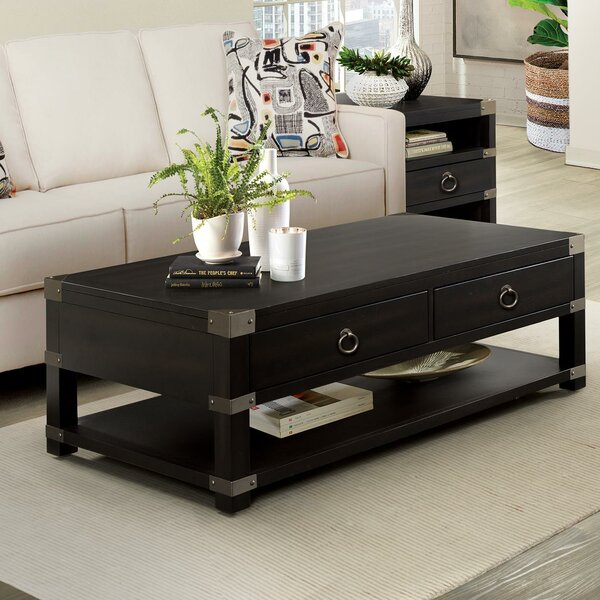 Danbury Coffee Table With Storage By Rosecliff Heights