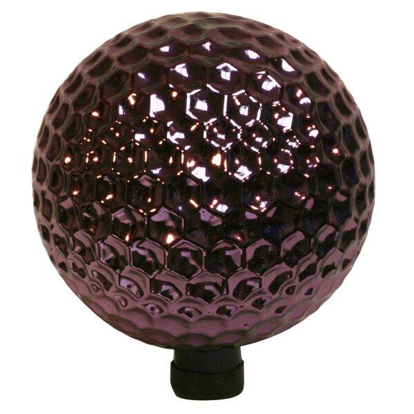 Navarro Hexagon Dimpled Glass Gazing Globe by World Menagerie