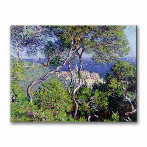 Bordighera, 1884 by Claude Monet Painting Print on Canvas by Trademark Fine Art