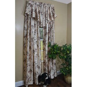 Cliff Walk Single Curtain Panel