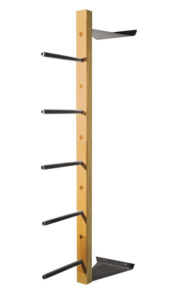 Wall Mounted Log Rack By Diversified Woodcrafts