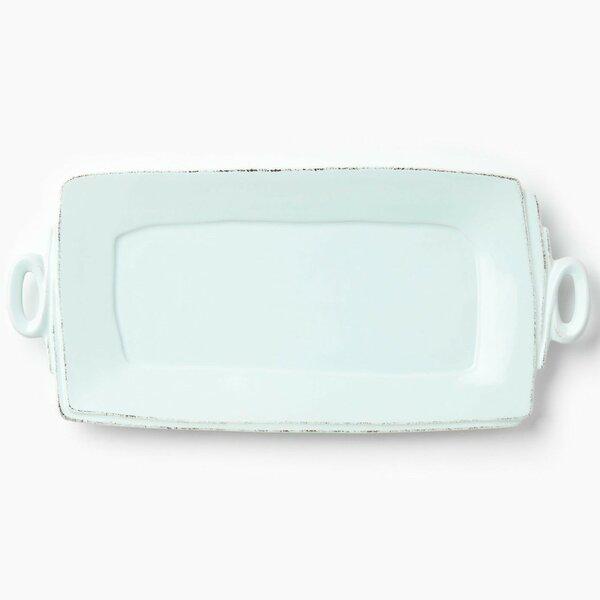 Lastra Handled Rectangular Platter by VIETRI