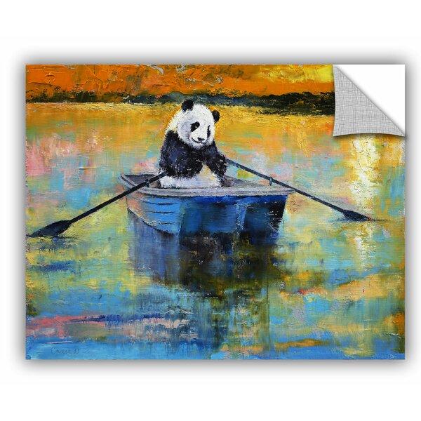 Michael Creese Panda Reflections Wall Decal by ArtWall