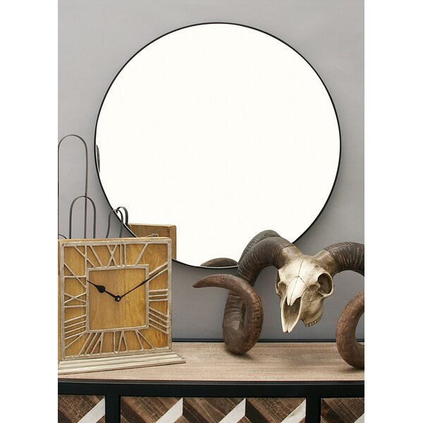 Kittel Wood Wall Mirror by Zipcode Design