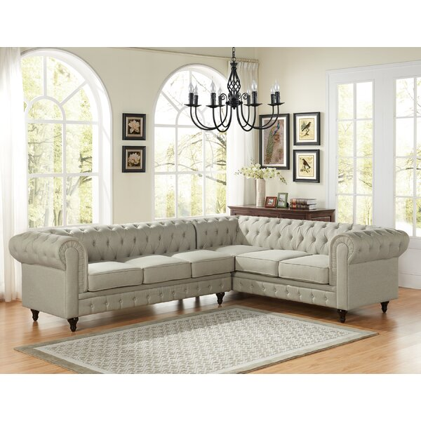 Carley Sectional by Rosdorf Park