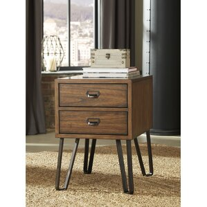 Karmane End Table by 17 St..