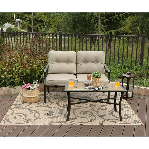 Stigall 2 Piece Sofa Seating Group with Cushions by Charlton Home