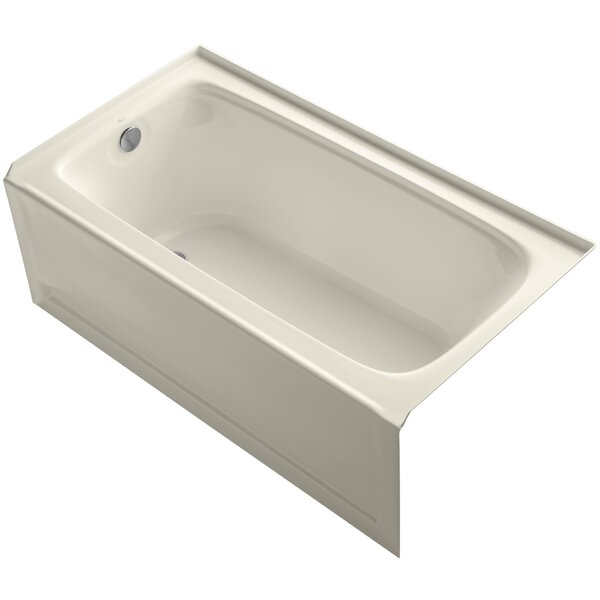 Bancroft Alcove 60 x 32 Soaking Bathtub by Kohler