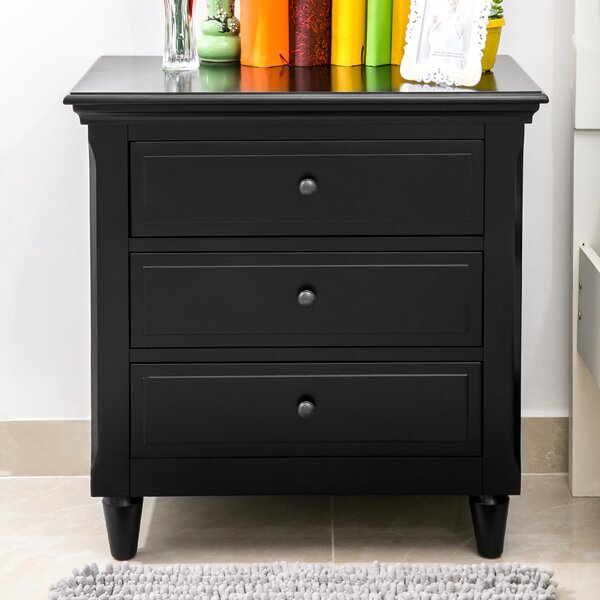 Kull 3 Drawer Nightstand by Red Barrel Studio