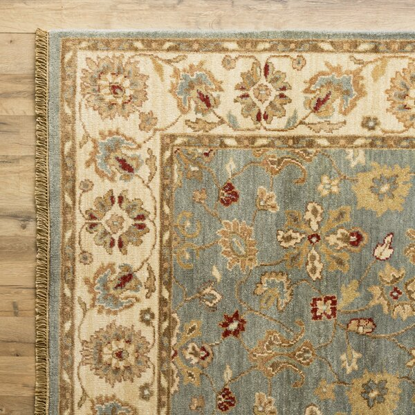 Savannah Hand-Woven Blue Area Rug by Birch Lane™