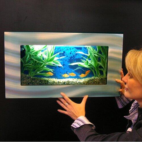 Aussie 2.5 Gallon Wall Mounted Aquarium Tank