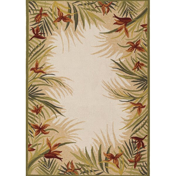 Wallingford Hand-Woven Sand Indoor/Outdoor Area Rug by Bay Isle Home