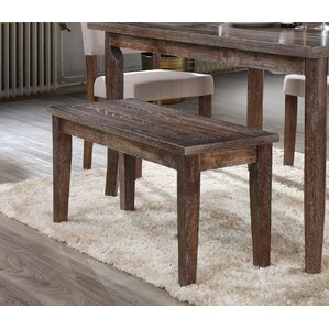 Mindy Wood Bench by BestMasterFurniture