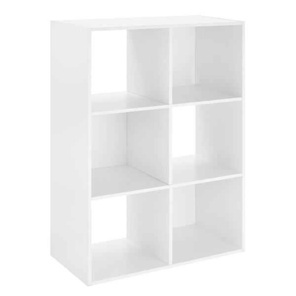 Wadlington 6-Section Cube Bookcase By Ebern Designs