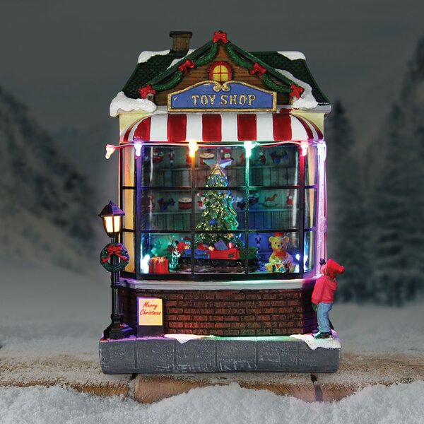 Animated Train Toy Shop by The Holiday Aisle