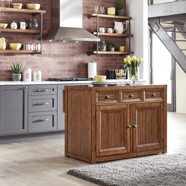 Milford Kitchen Island by Canora Grey