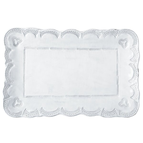 Incanto Rectangular Platter by VIETRI