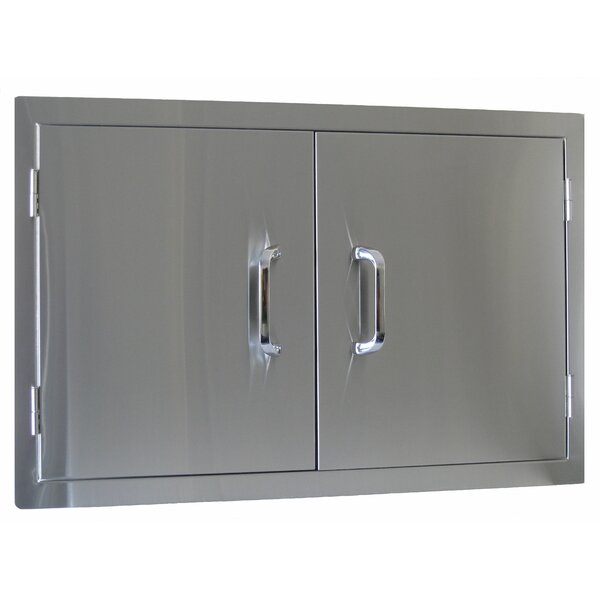 Stainless Steel Prehung Interior Door by BeefEater