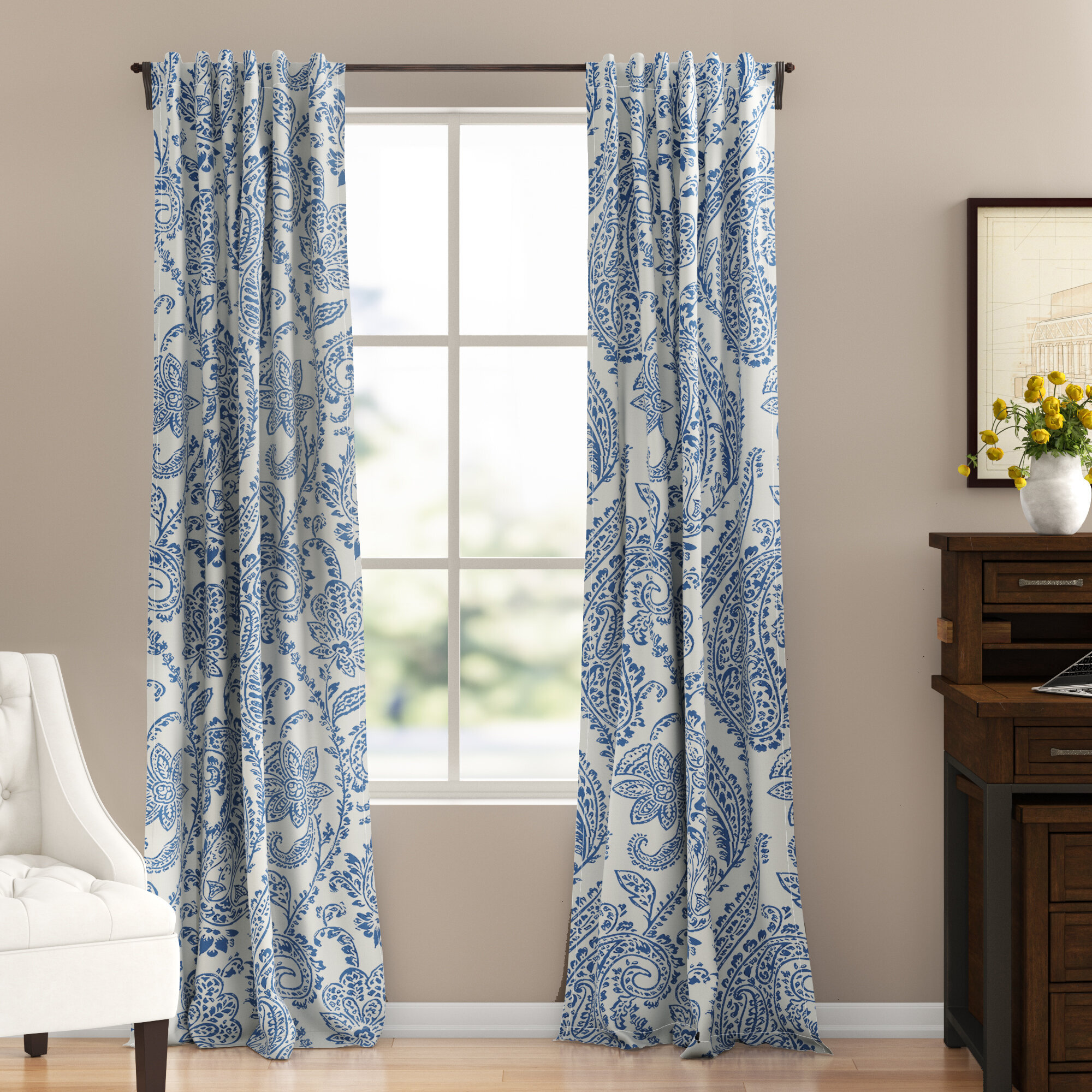 63 Inch And Less Curtains Drapes You Ll Love In 2021 Wayfair