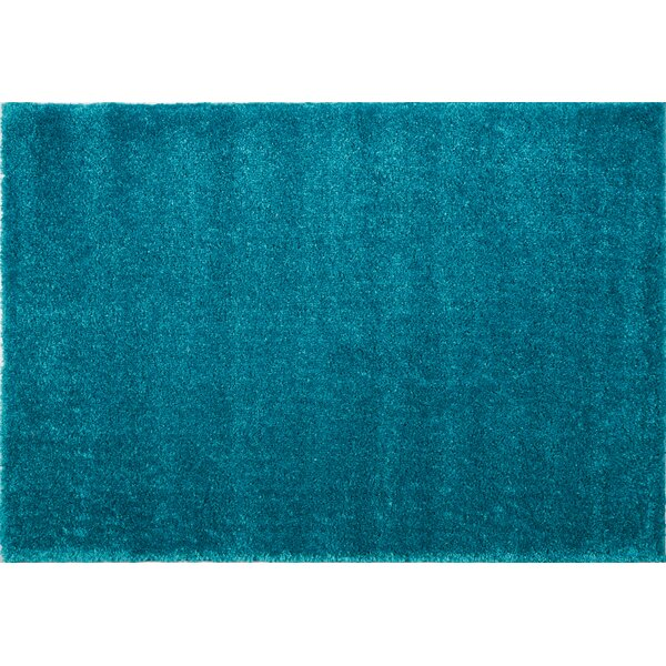 Chantry Turquoise Area Rug by Ebern Designs